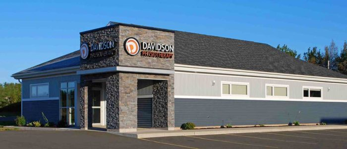 Davidson Physiotherapy clinic exterior