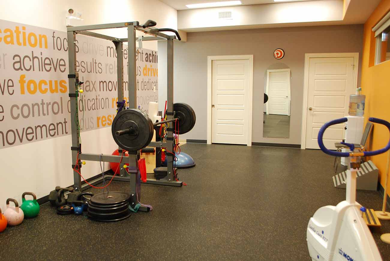 Gym at Davidson Physiotherapy