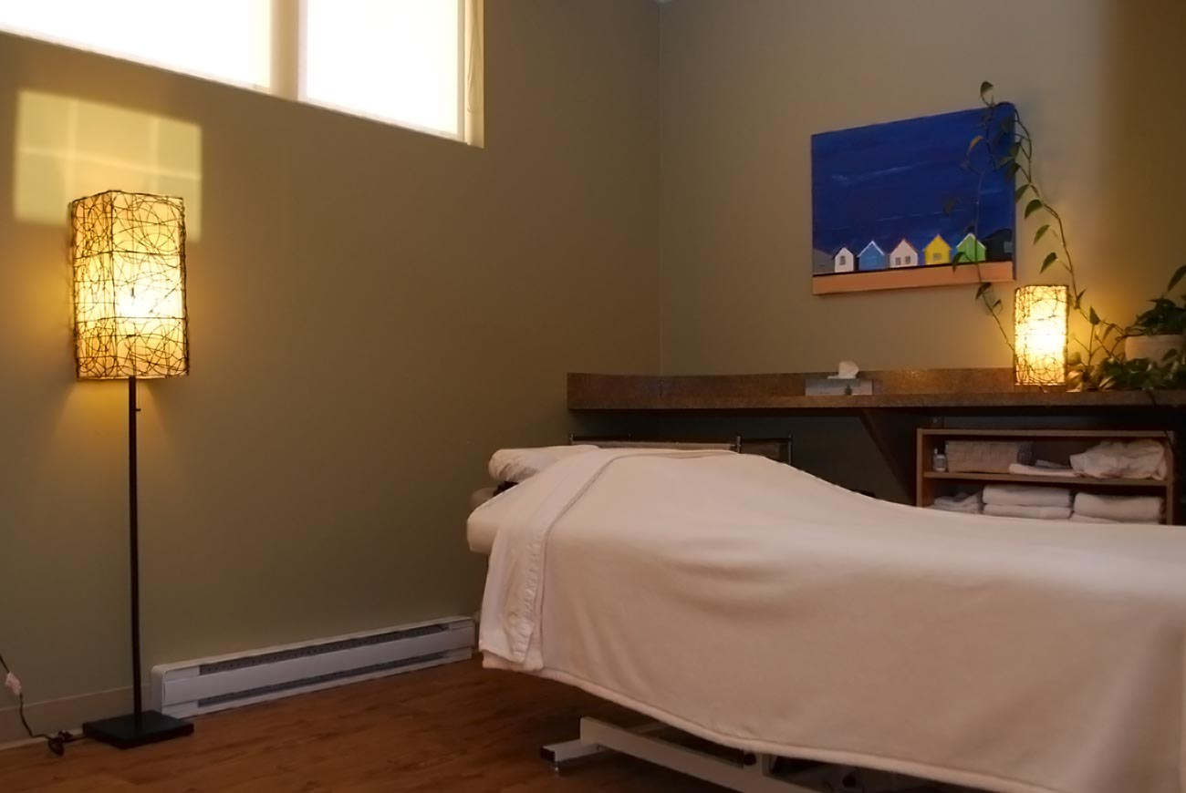 Massage room at Davidson Physiotherapy