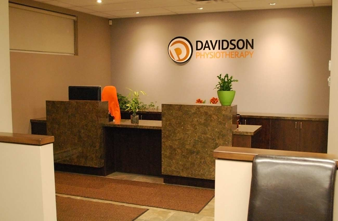 Reception area at Davidson Physiotherapy